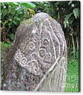 Barriles Carved Stone Indian Acrylic Print