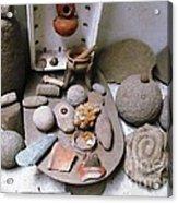 Barriles Indian Relics Acrylic Print