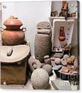 Barriles Pottery Indian Acrylic Print