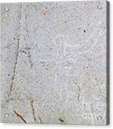 Barriles Stone Carving Acrylic Print