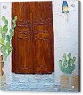 Barrio Doorway Acrylic Print