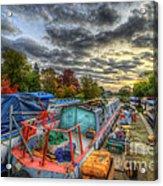 Barrow Boats Acrylic Print