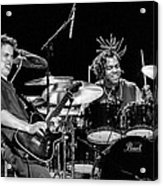 Barry Alexander Drumming For Johnny Lang Acrylic Print