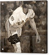 Barry Zito - Redemption Acrylic Print