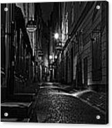 Bars In The Alley Acrylic Print