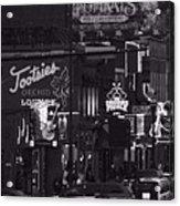 Bars On Broadway Nashville Acrylic Print by Dan Sproul