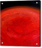 Barsoom Mars The Red Planet Acrylic Print
