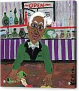 Bartender At The Country Club Acrylic Print