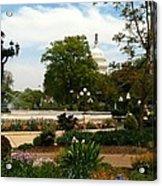 Bartholdi Fountain Acrylic Print