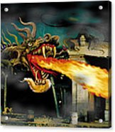 Barton The Mutant Salamander Acrylic Print