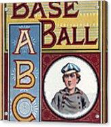 Baseball Abc Acrylic Print by McLoughlin Bros