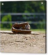 Baseball - America's Game Acrylic Print