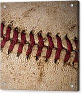Baseball - America's Pastime Acrylic Print