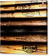 Baseball Bats Acrylic Print