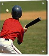 Baseball Batter Acrylic Print