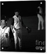 Baseball Days Acrylic Print