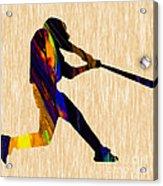 Baseball Game Art Acrylic Print