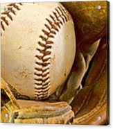 Baseball Has Been Very Good To Me Acrylic Print by Don Schwartz