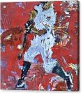 Baseball Painting Acrylic Print