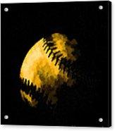 Baseball The American Pastime Acrylic Print