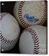 Baseball - The American Pastime Acrylic Print by Paul Ward