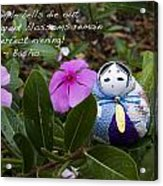 Basho Haiku 2 Acrylic Print