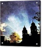 Basilica At Sunset Acrylic Print by Mark Block