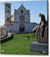 Basilica Di San Francesco - Assisi Acrylic Print