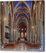 Basilica Di Santa Maria Sopra Minerva Acrylic Print