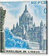 Basilica Lisieux Acrylic Print