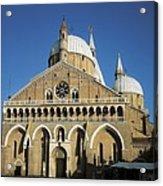 Basilica Of Saint Anthony Of Padua Acrylic Print
