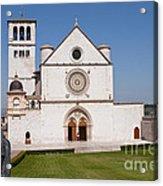 Basilica Of St. Francis Of Assisi Acrylic Print