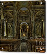 Basilica Of St. Josaphat Acrylic Print