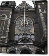 Basilica Of St Nicholas II Amsterdam Acrylic Print