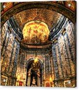 Basilica Parroquial Acrylic Print