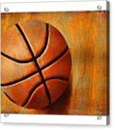 Basket Ball Acrylic Print by Craig Tinder