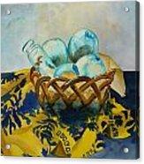 Basket Of Floats Acrylic Print