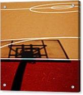 Basketball Shadows Acrylic Print