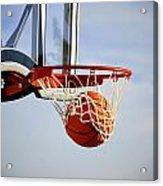Basketball Shot Acrylic Print