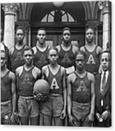 Basketball Team Portrait Acrylic Print