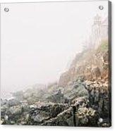 Bass Harbor In Fog Acrylic Print