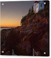 Bass Head Harbor Lighthouse Acrylic Print