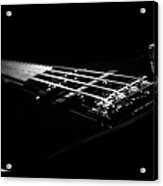 Bass On Black Acrylic Print