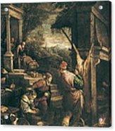 Bassano, Leandro 1557-1622. The Return Acrylic Print