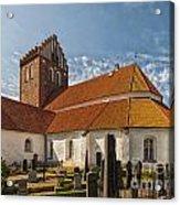 Bastad Church Acrylic Print