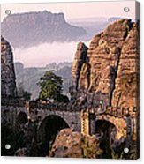 Bastei, Saxonian Switzerland National Acrylic Print