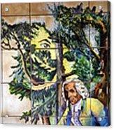 Bastille Metro No 4 Acrylic Print
