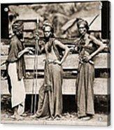 Batak Warriors In Indonesia 1870 Acrylic Print