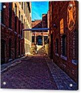 Bates Mill Lewiston Maine Acrylic Print by Bob Orsillo