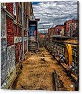 Bates Mill Office Canal Street Acrylic Print